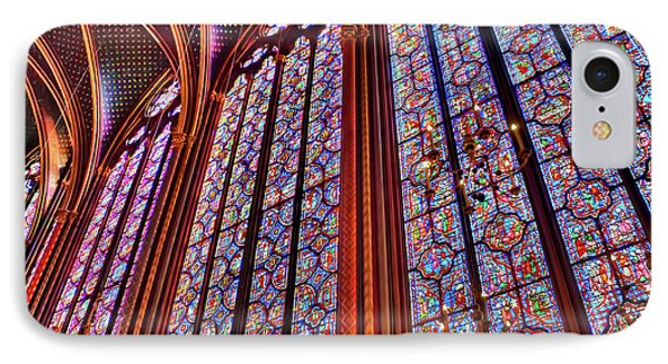La Sainte-chapelle IPhone Case by Nigel Fletcher-Jones