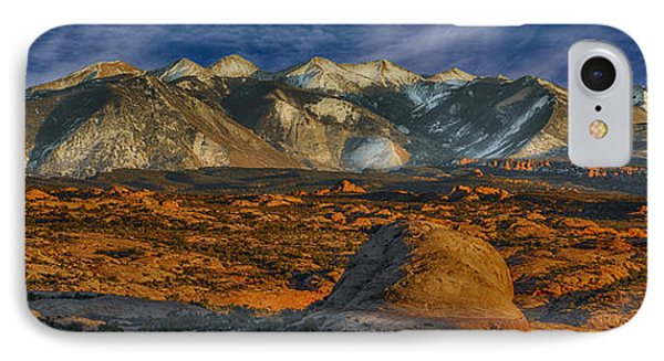 La Sal Mountain View IPhone Case by Wendell Thompson