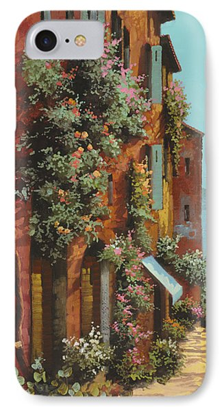 La Strada Verso Il Lago IPhone Case by Guido Borelli