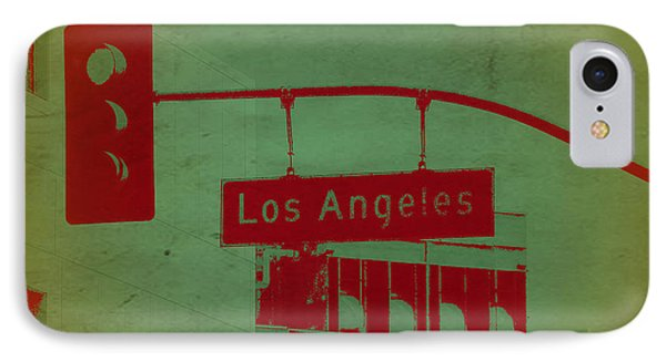 La Street Ligh IPhone 7 Case