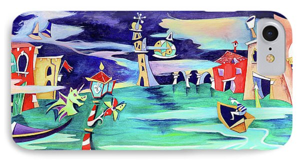 La Tempesta - Grand Canal Palace IPhone Case by Arte Venezia