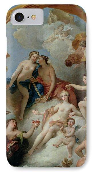 La Toilette De Venus IPhone Case by Francois Lemoyne