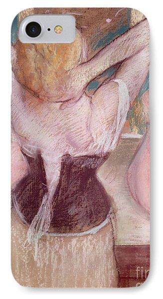 La Toilette IPhone Case by Edgar Degas