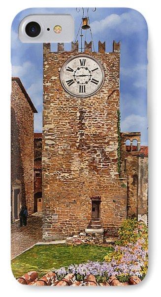 La Torre Del Carmine-montecatini Terme-tuscany IPhone 7 Case