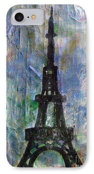 La Tour Eiffel By Taikan IPhone Case