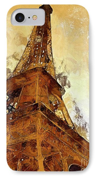 La Tour Eiffel IPhone Case by Dragica Micki Fortuna
