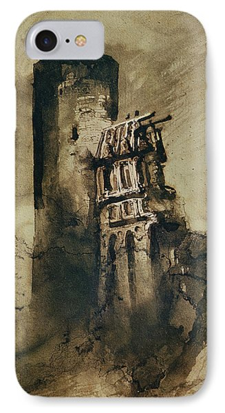 La Tourgue In 1835 IPhone Case by Victor Hugo
