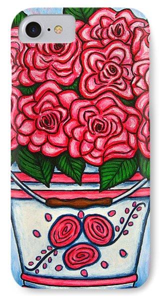 La Vie En Rose Phone Case by Lisa  Lorenz