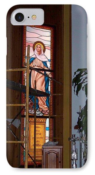 La Virgen Milagrosa IPhone Case