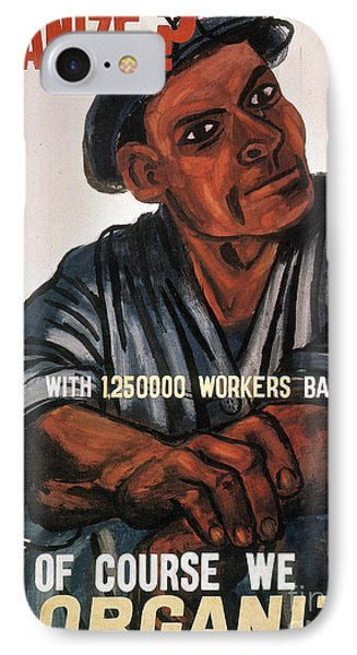 Labor: Poster, 1930s Phone Case by Granger