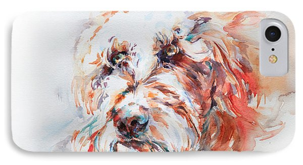 Labradoodle Phone Case by Stephie Butler