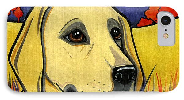 Labrador Phone Case by Leanne Wilkes