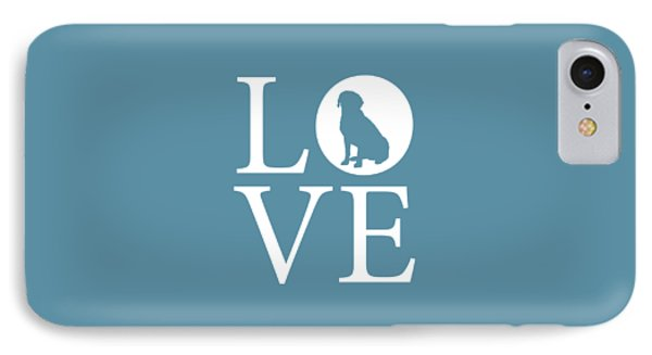 Labrador Love IPhone Case by Nancy Ingersoll