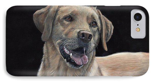 Labrador Portrait IPhone Case