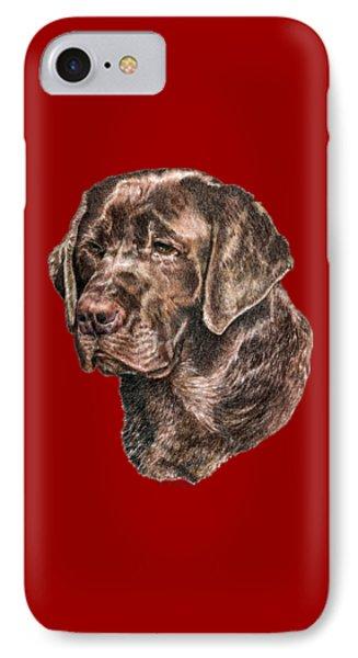 Labrador Retriever, Chocolate Lab IPhone Case