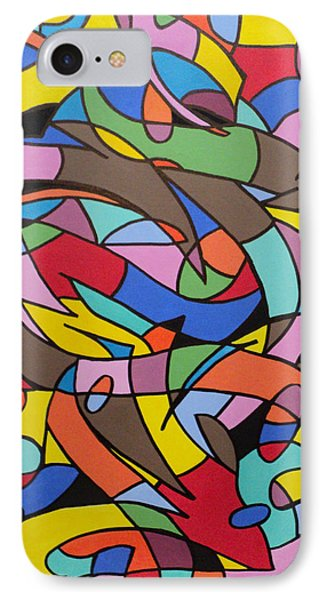 Labrynith IPhone Case by Angelo Thomas