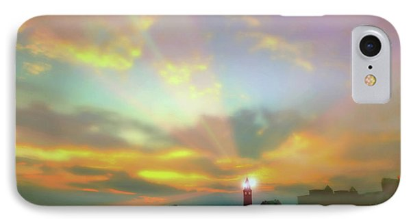 IPhone Case featuring the photograph Lackawanna Transit Sunset by Diana Angstadt
