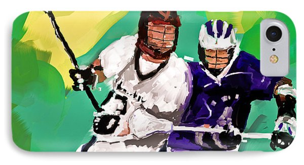 Lacrosse I IPhone Case by Scott Melby