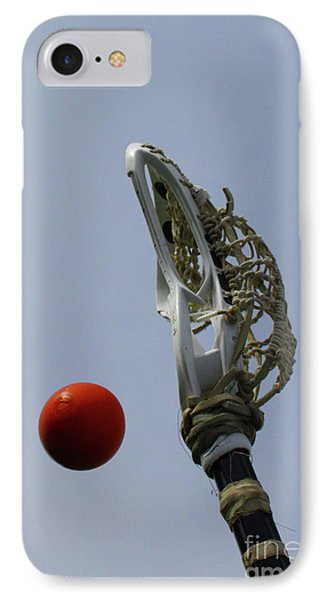 Lacrosse Stick And Ball IPhone Case