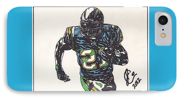 Ladainian Tomlinson 1 IPhone Case by Jeremiah Colley