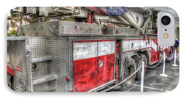 Ladder Truck 152 - 9-11 Memorial Phone Case by Eddie Yerkish