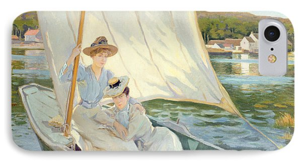 Ladies In A Sailing Boat  IPhone Case