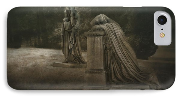 Ladies Of Eternal Sorrow IPhone Case by Tom Mc Nemar