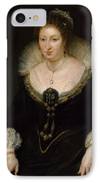Lady Alethea Talbot, Countess Of Arundel IPhone Case by Peter Paul Rubens