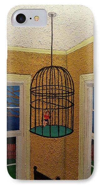 Lady Bird IPhone Case by Thomas Blood