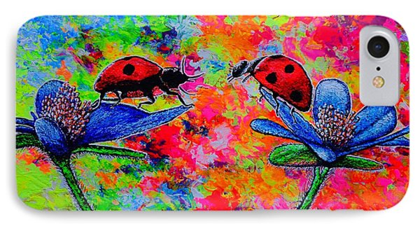 Lady Bugs IPhone Case by Viktor Lazarev