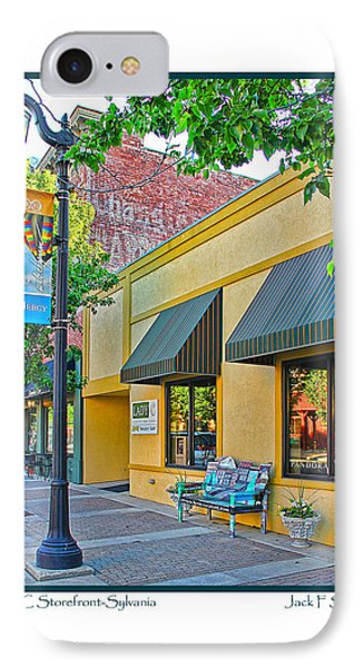 Lady C Storefront-sylvania IPhone Case