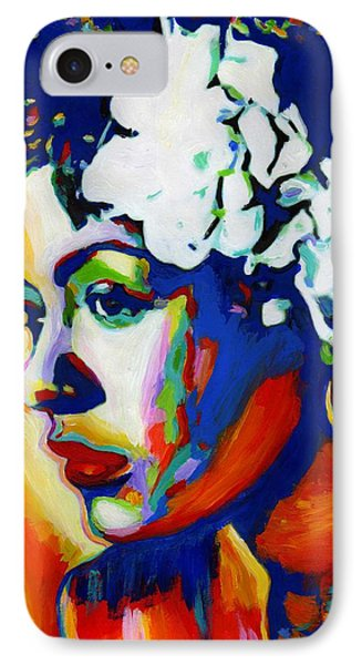 Lady Day Phone Case by Vel Verrept