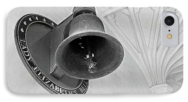 IPhone Case featuring the photograph Lady Elizabeth's Bell Clare College Cambridge by Gill Billington