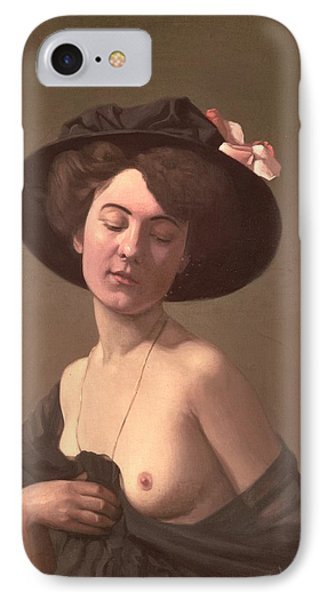Lady In A Hat Phone Case by Felix Edouard Vallotton
