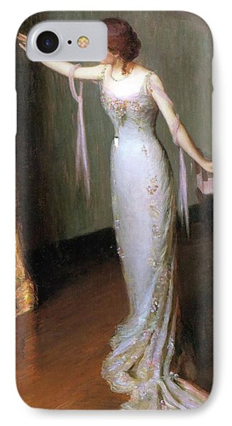 Lady In An Evening Dress IPhone Case