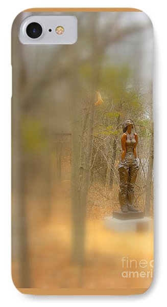 Lady In Bronze IPhone Case
