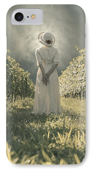 Lady In Vineyard Phone Case by Joana Kruse