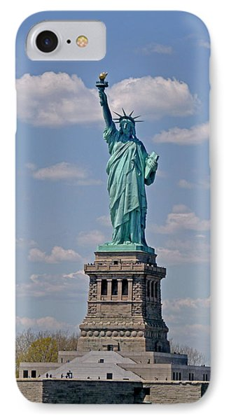 IPhone Case featuring the photograph Lady Liberty by Helen Haw