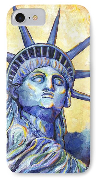 Lady Liberty Phone Case by Linda Mears