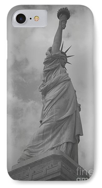 Lady Liberty IPhone Case by Louise Fahy