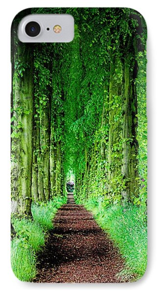 Lady Lucy's Walk IPhone Case