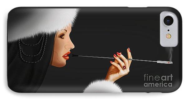 Lady Ninotschka Phone Case by Monika Juengling