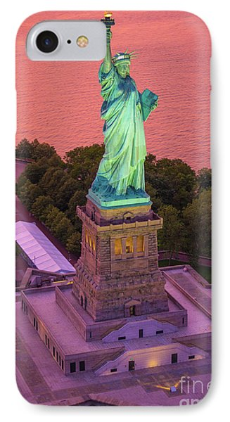 Lady Of Liberty IPhone Case