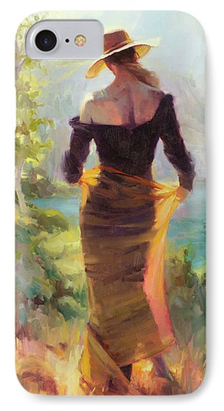 Impressionism iPhone 7 Case - Lady Of The Lake by Steve Henderson