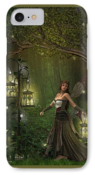 Lady Of The Lanterns IPhone Case