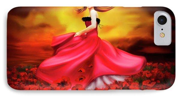 Lady Poppy IPhone Case by Svetlana Sewell