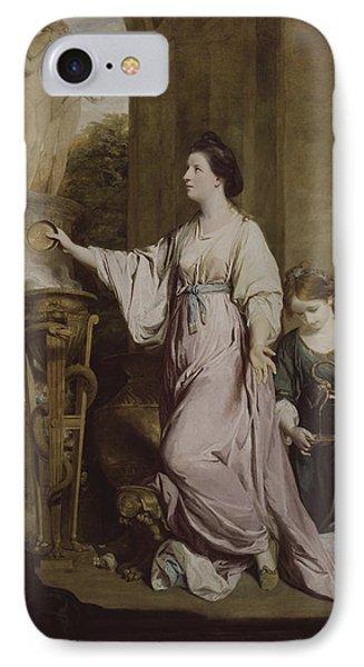 Lady Sarah Bunbury Sacrificing To The Graces IPhone Case
