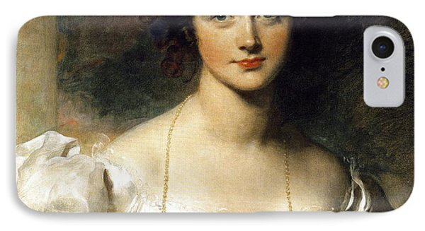 Lady Phone Case by Thomas Lawrence