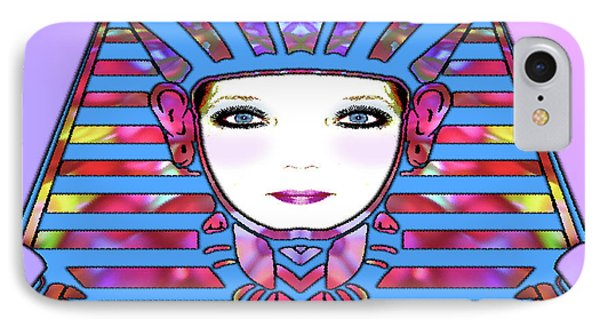 IPhone Case featuring the photograph Lady Tut #191 by Barbara Tristan