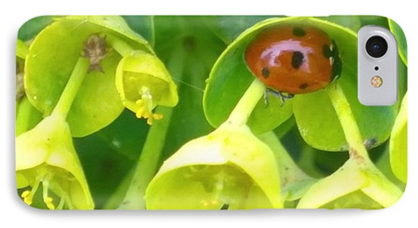 #ladybug Found Some Shelter From The IPhone Case by Shari Warren